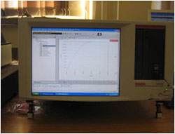 Keithley analyzer